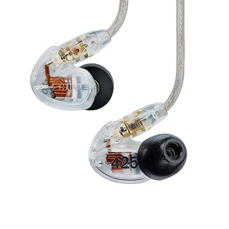 Shure Shure SE425 Sound Isolating Dual Driver Earphones - Clear