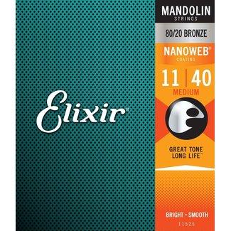 Elixir Elixir Nanoweb 11525 Ens. Cordes Mandoline 11-40