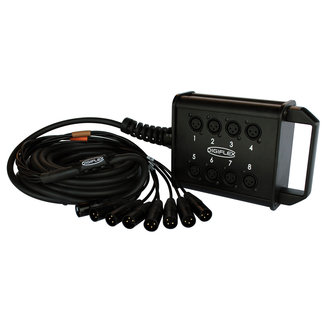 Digiflex Digiflex Câble Multipaires 8 Entrées XLR - 50'