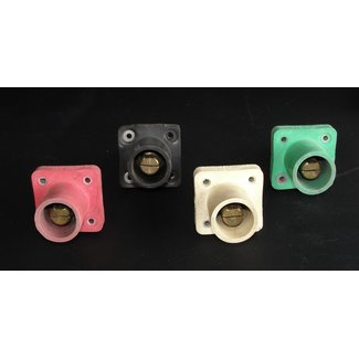 Crouse-Hinds Embases Mâle Type Cam-Lock 600v / 400a - Lot de 4 (Usagé)