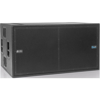 DB Technologies DB Technologies DVA S30N Enceinte Acoustique Sous-Grave Active Double 18'' - 3000w