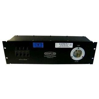 Digiflex Digiflex Distro 3U With TL4 Input, 4 U-Ground & PowerCon Outputs