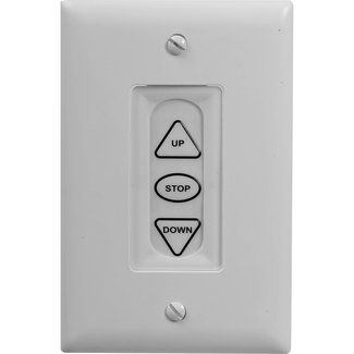 Da-Lite Da-Lite 40975 Wall Switch LVC 3 Buttons
