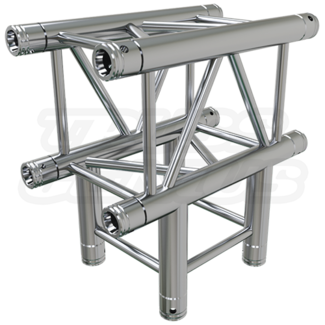 Global Truss Global Truss F34 SQ-4129 Raccord en T à 4 Points de 3 Voies