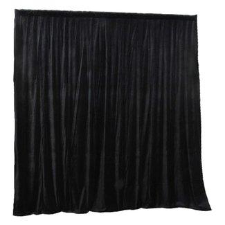 Focus9 Rideau de Velour Noir 17.5oz à Oeillets - 16'H x 10'L