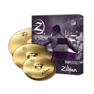 Zildjian Zildjian Planet Z PLZ4PK 3-Piece Cymbal Set 14'' / 16'' / 20''