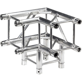 Global Truss Global Truss F34 SQ-4126 Coin à 4 Points de 3 Voies 90 Degrés