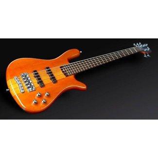 Warwick Warwick Rockbass Streamer NT 5-String Electric Bass - Honey Violin Transparent (High Polish)