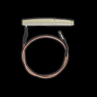 Ovation Ovation RC-PU005-AL Capteur Magnétique avec Selle, Câble et Connecteur