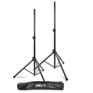 Quiklok Quik Lok S-171 Aluminium Speaker Stands (Pair) with Bag