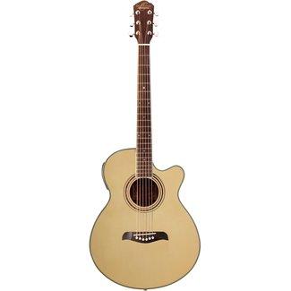 Oscar Schmidt Oscar Schmidt OG10CEN-A Concert Acoustic / Electric Guitar - Natural