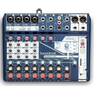 Soundcraft Soundcraft Notepad-12FX 12-Channel Audio Mixer With FX & USB Interface