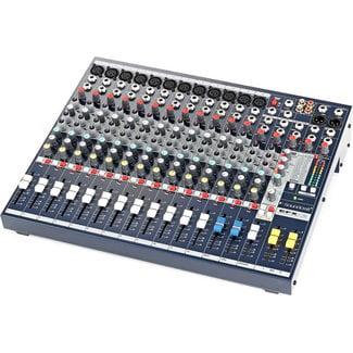 Soundcraft Soundcraft EFX12 Console Audio 12 Canaux Avec Effets Lexicon