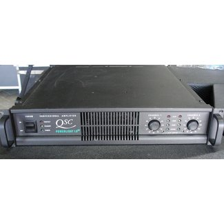 QSC Audio QSC Audio Powerlight 1.0HV Stereo Power Amplifier - 500w / Channel 4 ohm (Used)