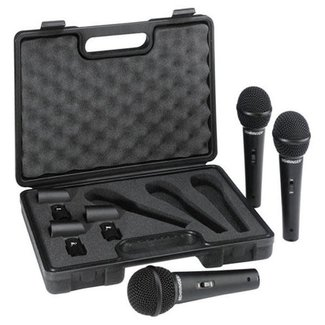 Behringer Behringer XM1800S Ensemble de 3 Microphones Dynamique Cardioide