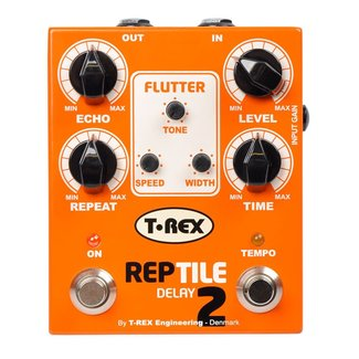 T-Rex T-Rex Reptile 2 Tape Style Delay Pedal With Tap Tempo