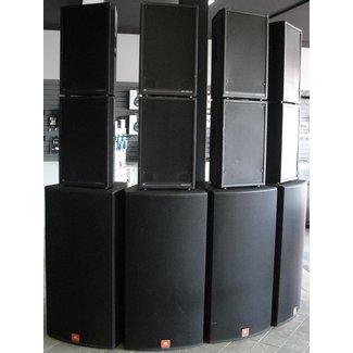 JBL JBL Série Array / Powersound Système Haut-Parleurs Complet 8x 4892-90 / 4x SP125S (Usagé)
