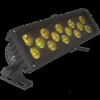 LCG LCG B314IP RGB Color Mixing Fixture 14x 3-Watt Tri-Color LED IP65 DMX