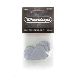 Dunlop Dunlop 44P-60 Nylon Standard Plectres .60mm (Paquet de 12)