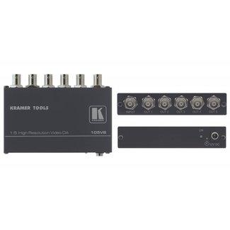 Kramer Electronics Kramer 105VB 1:5 Composite Video Distribution Amplifier (BNC)