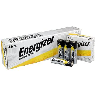 Energizer Energizer Industrial EN91 AA 1.5v Alkaline Batteries (Box of 24)