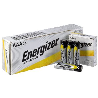 Energizer Energizer Industrial EN92 AAA 1.5v Alakaline Batteries (Box of 24)