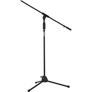 Gator Cases Gator Rok-It Standard Microphone Stand with Fixed Boom Arm and Tripod Base - Black