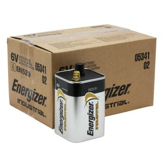 Energizer Energizer Industrial EN529 6v Alkaline Batteries (Box of 6)