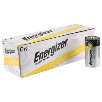 Energizer Energizer Industrial EN93 Batteries Alcalines C 1.5v (Boîte de 12)