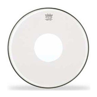 Remo Remo Controlled Sound peau de tambour 14'' - Translucide point blanc