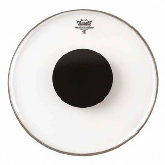 Remo Remo Controlled Sound 14'' Drum Head - Clear Black Dot