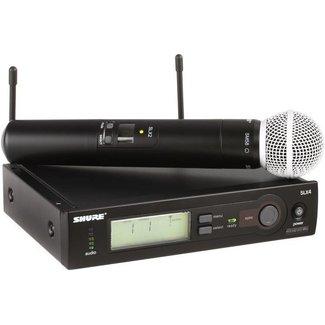 Shure Shure SLX24/SM58 Handheld Wireless System - H5 (518-542)