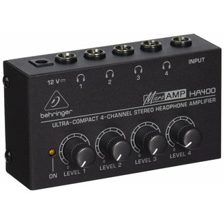 Behringer Behringer HA400 4-Channel Stereo Headphone Amplifier