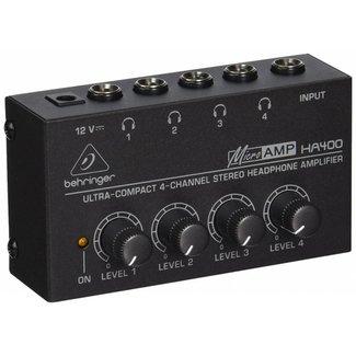 Behringer Behringer HA400 amplificateur et mélangeur 4 canaux pour casques d'écoute