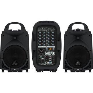 Behringer Behringer PPA500BT 6-Channel Portable Complete Audio System - 500w