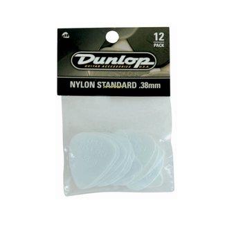 Dunlop Dunlop 44P-38 Plectres Nylon Standard .38mm - Paquet de 12