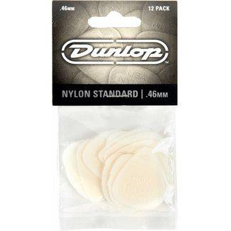 Dunlop Dunlop 44P-46 Plectres Nylon Standard .46mm - Paquet de 12