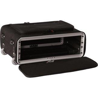 Gator Cases Gator Cases coffre rack nylon 2U avec roulettes et poignée rétractable