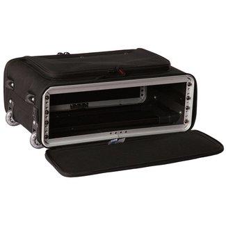 Gator Cases Gator Cases coffre rack nylon 4U avec roulettes et poingnée rétractable
