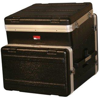 Gator Cases Gator Cases GRC10X6 rack combo en polyéthylène 10U (dessus) et 6U (dessous)