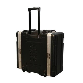 Gator Cases Gator Cases GRR4L 4-Space Standard Rack with Handle & Wheels