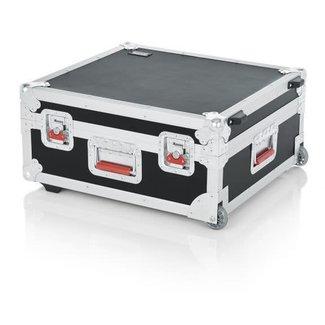 Gator Cases Gator Cases GTOUR-19X21 Coffre Console avec Roulettes et Poignée Rétractable - 19x21x7''