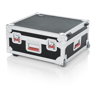 Gator Cases Gator Cases GTOUR-19X21 Mixer Case with Handle & Wheels 19x21x7''