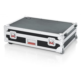 Gator Cases Gator Cases GTOUR-20X30 Mixer Case with Handle & Wheels - 20x30x6.5''