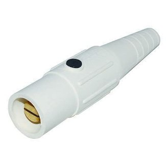 Marinco Marinco CLS40MB Cam Type Male Inline Connector, 400 amp, 600v - White