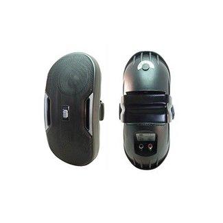 MG Electronics MG haut-parleurs muraux double 5.25'' 2 voies - 250w / 8 ohms / 70v - Noir (paire)