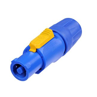 Neutrik Neutrik NAC3FCA connecteur PowerCON 3 contacts alimentation entrée (bleu)