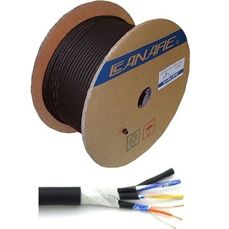Canare Canare MR202-4AT 4-Channel Microphone Cable - Roll of 100 Meters