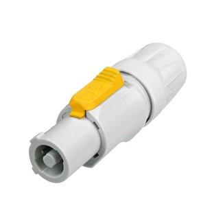 Neutrik Neutrik NAC3FCB connecteur PowerCON 3 contacts alimentation de sortie (gris)