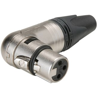 Neutrik Neutrik NC3FRX 3-Pin Female Right Angle XLR Inline Connector